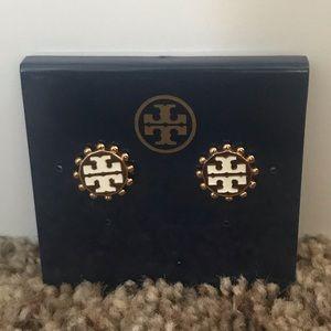 Tory Burch Logo post earrings